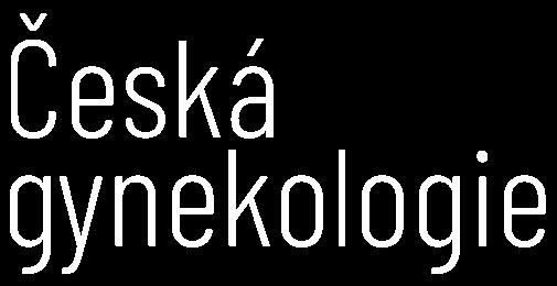Česká gynekologie